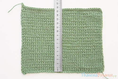 Зачем нужна плотность вязания