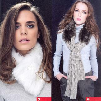 Модные вязаные шарфы сезона 2012 - 2013