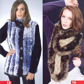 Модный вязаный шарф для мужчин