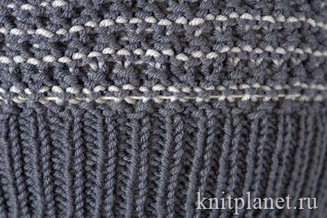 Вязание берета. Инструкция для начинающих