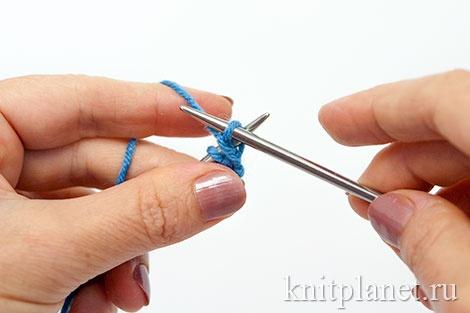 Уроки вязания спицами для начинающих, часть 7. Оформление бокового края.