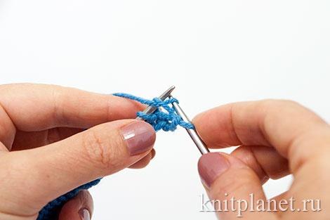 Уроки вязания спицами для начинающих, часть 7. Как вязать бабушкину изнаночную.