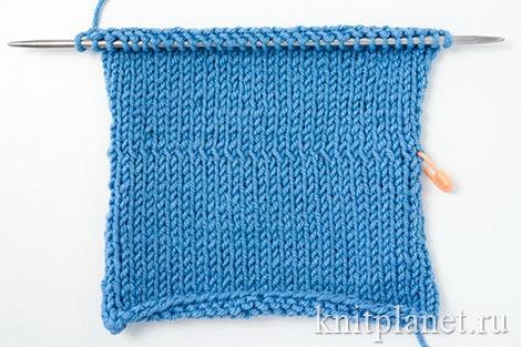 Уроки вязания спицами для начинающих, часть 8. Скрещенные петли