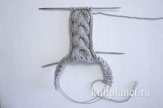 Следки-тапочки Marta. Схема вязания
