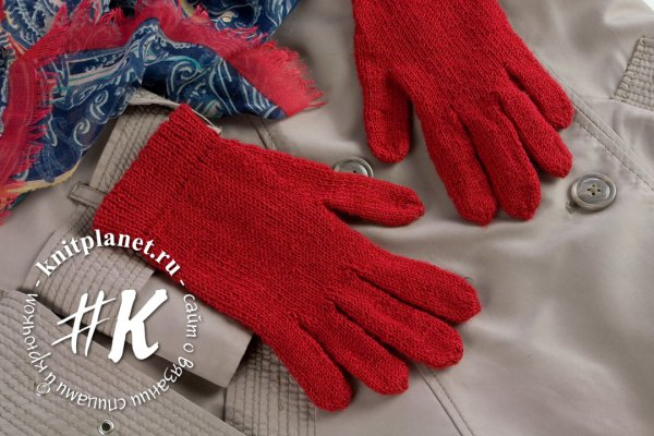 Как связать перчатки спицами. Мастер-класс от Ольги Боган