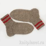 Классические носки для начинающих