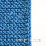Красивая боковая кромка для шарфа