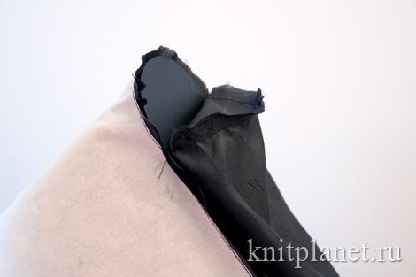 Вязаная сумка. Как сделать донышко
