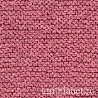 планета вязания платочная вязка поворотными рядами и вязание по