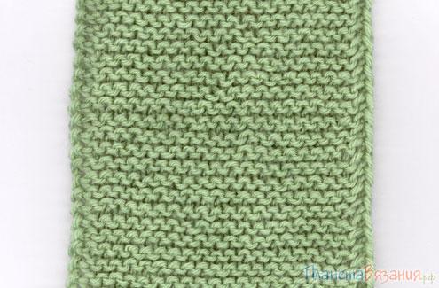 Еще один способ получения ровного бокового края вязания
