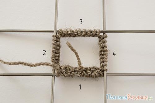 Набор петель для вязания варежек