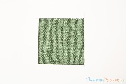 Плотность вязания при вязании крючком и спицами