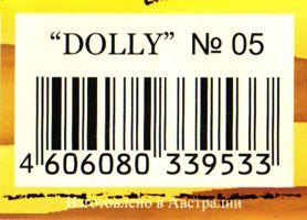 Штрихкод, пряжа dolly adelia