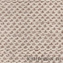 Этот узор образован при помощи. Он особенно подойдет для вязания женских жакетов: узор плотный, хорошо держит форму