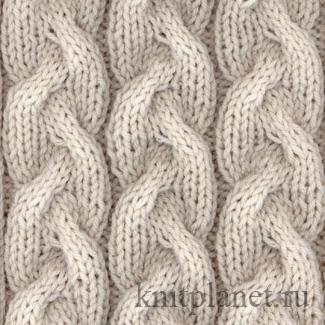 Вязание двух петель вместе изнаночной - knitting-pro