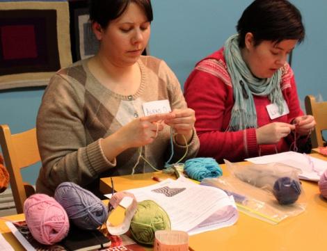 мастер-классах, по таким направлениям, как моделирование изделий, техника вязания, демонстрация вязанных моделей