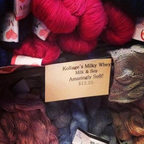 поставщики товаров для вязания демонстрировали свою продукцию