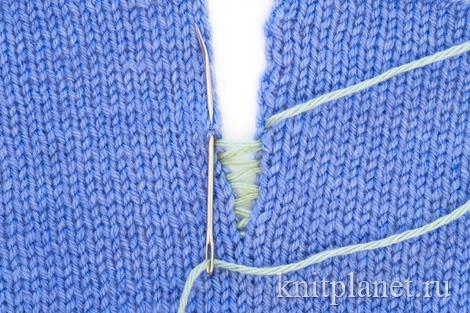 """В разделе """"Техника вязания"""