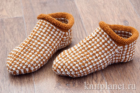 Носки-тапочки ленивым