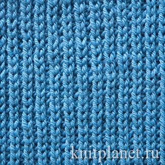 Полупатентная резинка как вязать - Всё про вязание здесь