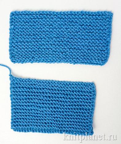 Уроки вязания спицами для начинающих, часть 8. Скрещенные петли плотнее