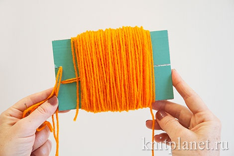Как сделать помпон самому