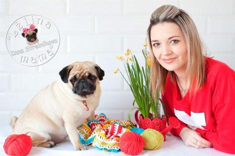 Инна Стрельникова. Вязание для собак или зачем собаке свитер.