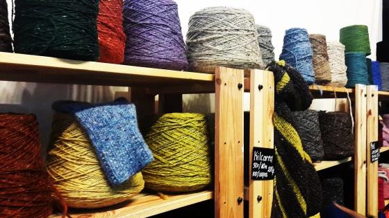 Магазин Манефа на выставке Wool Market