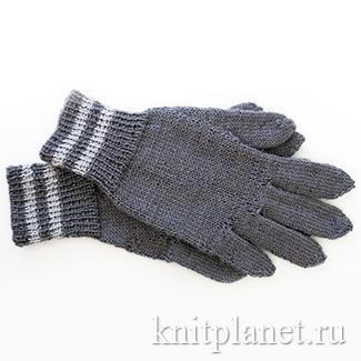 Вязание перчаток  спицами - пособие для начинающих