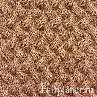 Поиск на Постиле: узор плетенка спицами схема 1