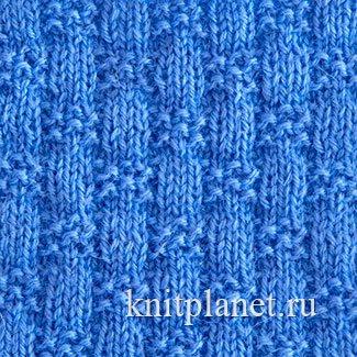 Схема вязания спицами плетенки 159